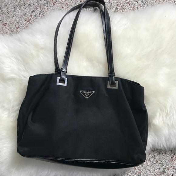 8a432b50f16b ... norway price drop prada nylon leather bag de060 a7719
